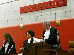 Pic: Court in Genoa