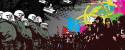 Bild: Demo gegen Versammlungsgesetz
